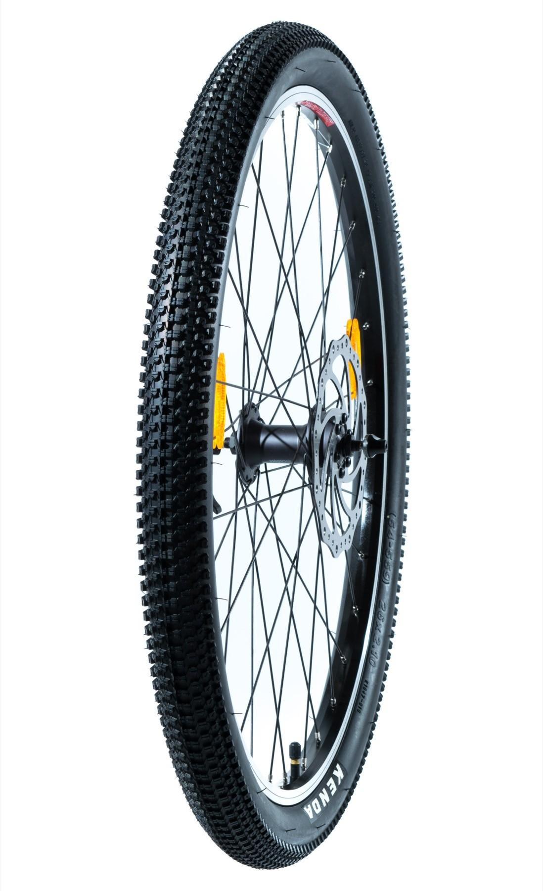 """Etu / takairtopyörä renkaineen ja jarrulevyllä 26"""" (Cross MAX 20D/Cross MAX 20HD/Cross 29er)"""
