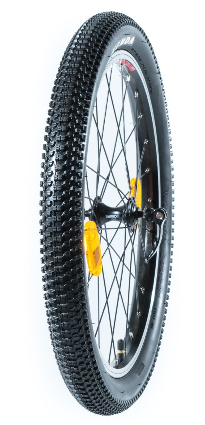 """Takairtopyörä renkaineen 20"""" (Cross MAX 20V)"""