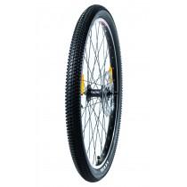 """Etu- ja takairtopyörä renkaineen ja jarrulevyllä 26"""" (Cross MAX 20D/Cross MAX 20HD/Cross 29er)"""