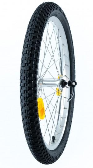"""Etuirtopyörä renkaineen 20"""" (Freeride)"""