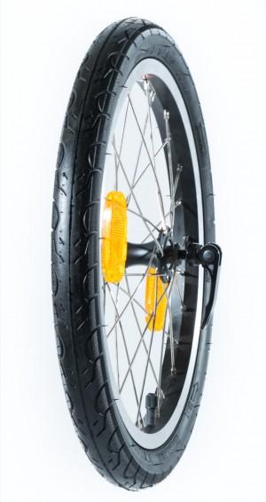 """Takairtopyörä renkaineen 16"""" (City G4)"""
